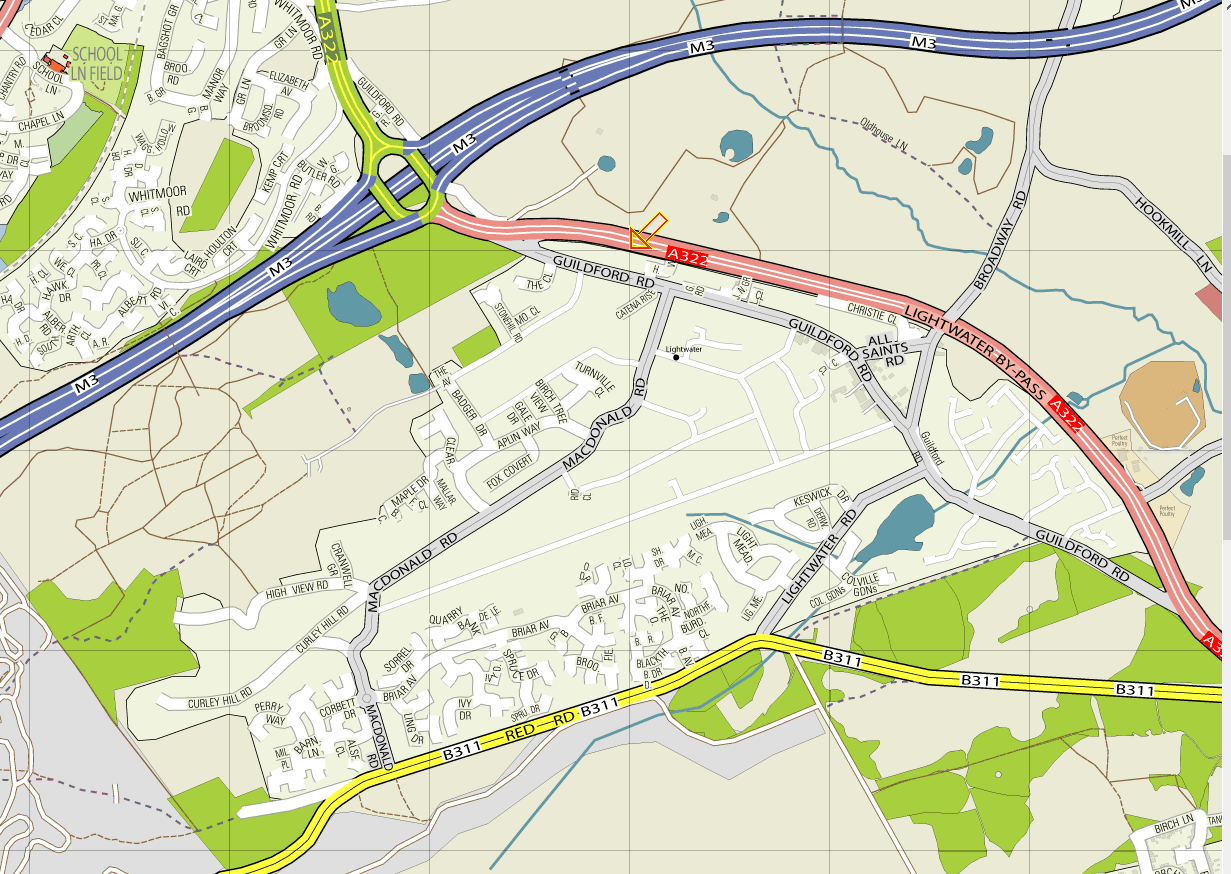 Lightwater Map