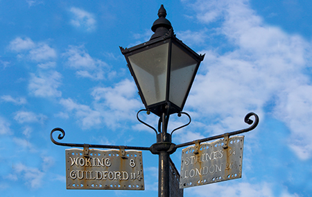 Bagshot Lamp post