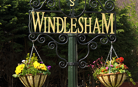 windlesham sign