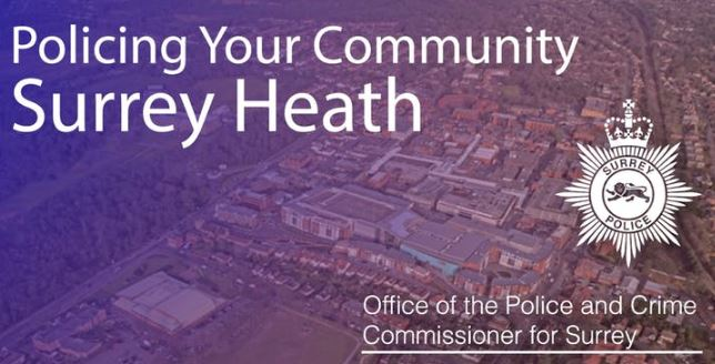 Policing Your Community Surrey Heath Open Engagement Meeting