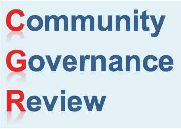 UPDATE - Community Governance Review