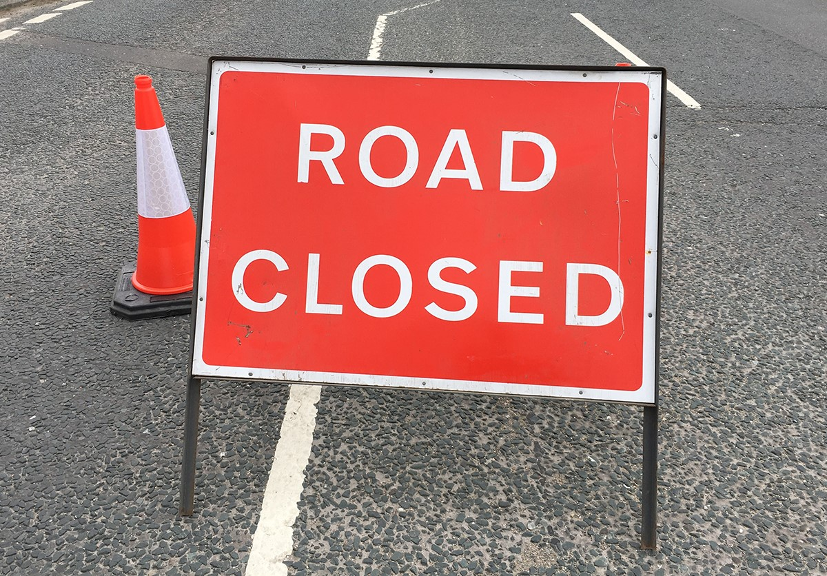 Windlesham Road Closure